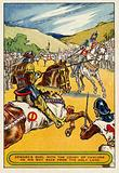 Edward's duel with the Count of Chalons on his way back from the Holy Land
