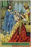 Shakespeare reading 'Macbeth' to the court of Elizabeth