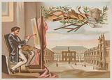Painter and the Ecole des Beaux Arts, Paris