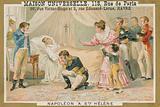 Death of Napoleon on St Helena, 1821