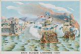Blockade of Lisbon by Jean Ango, 1530