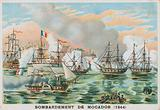 Bombardment of Mogador, Morocco, by the French, 1844