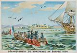 Disembarkation of Napoleon in Egypt, 1798