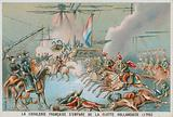 French cavalry capturing the Dutch fleet, 1795