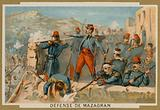 Defence of Mazagran by the French, Algeria, 1840