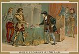 King Louis XI of France and Charles the Bold, Duke of Burgundy