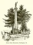 Ethan Allen Monument, Burlington, Vt
