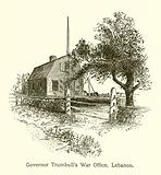 Governor Trumbull's War Office, Lebanon, Connecticut