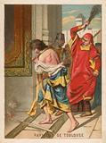 Raymond of Toulouse being beaten in Anatolia