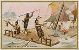 Stone Age raft