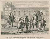 Tutors returning from the Tuileries, after Cochin