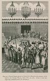 Funeral Supper, given by Grimod de la Reyniere the Younger, at his Hotel in the Champs Elysees …