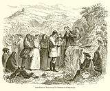 Covenanters Dispensing the Ordinance of Baptism