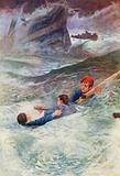 """""""Struggling in the wild sea"""""""