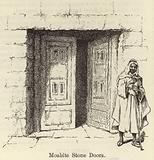 Moabite Stone Doors