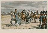 Queen Louisa reviewing the Prussian Army