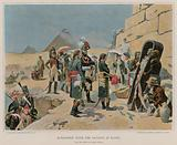 Bonaparte with the savants in Egypt