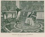 Napoleon and Pius VII at Fontainebleau
