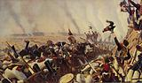 The end of the battle of Borodino