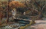Rustic Bridges, Groudle Glen, I of Man