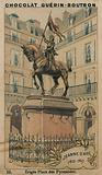 Jeanne d'Arc, 1412-1431, Erigee Place des Pyramides