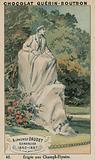 Alphonse Daudet, Romancier, 1840-1897, Erigee aux Champs-Elysees