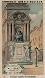 Moliere, Poete, 1622-1673, Fontaine dans la Rue Richelieu