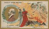 Macbeth, Chocolat Guerin-Boutron trade card