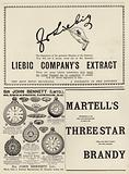 Advertising spread from The Graphic Christmas Number 1897