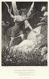 Oberon and Titania, Midsummer Night's Dream, Act II, Scene III