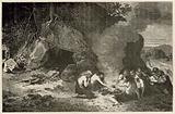 Un repas funeraire a l'epoque du grand ours et du mammouth