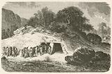 Un tumulus a l'epoque de la pierre polie