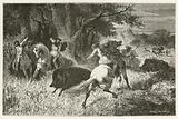 La chasse a l'epoque du fer