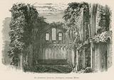 Glastonbury Abbey, St Joseph's Chapel, Interior, looking West