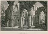 Tintern Abbey, From South Transept