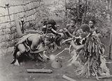 A Smoking Party, Zululand