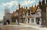 Leycester Hospital and Westgate, Warwick