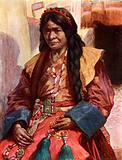 Woman of Lhasa, Tibet