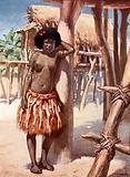 Woman of the Rigo District: British New Guinea