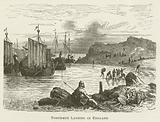 Northmen Landing in England