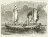 Fulton's First Steamboat
