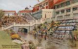 Rock Gardens and Waterfall, The Pavilion, Bournemouth