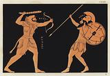 Hercules fighting Ares