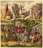 Kings of the House of Lancaster and York; King Henry IV, King Henry V, King Henry VI …