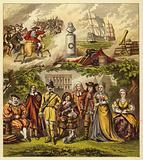 Stuarts, Commonwealth, and House of Orange; King James I, King Charles I, Oliver Cromwell …