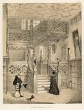 Staircase, Crewe Hall, Cheshire