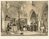 Chapel, Haddon Hall, Derbyshire