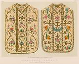 Embroidered Chasubles by Luigi and Ersilia Martini, Milan