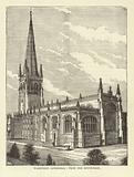 Wakefield Cathedral, from the South-East