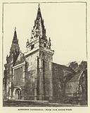 Aberdeen Cathedral, from the South West